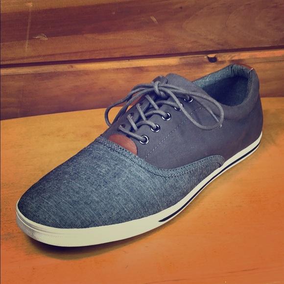 Aldo Other - Aldo 🔷 Men's Denim Canvas Sneaker Shoes 10.5